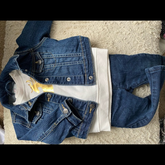 THE CHILDRENS PLACE denim outfit